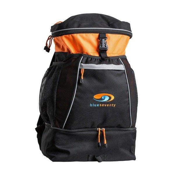 BLUESEVENTY Plecak Triathlonowy TRANSITION BAG Pomarańczowy