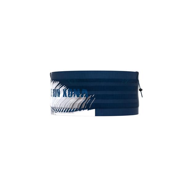 COMPRESSPORT pas na biodra Free Belt Pro KONA 2019 niebiesko-biały