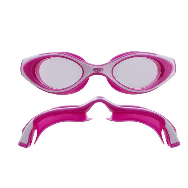 BLUESEVENTY Okularki HYDRA VISION Junior Różowo-Białe