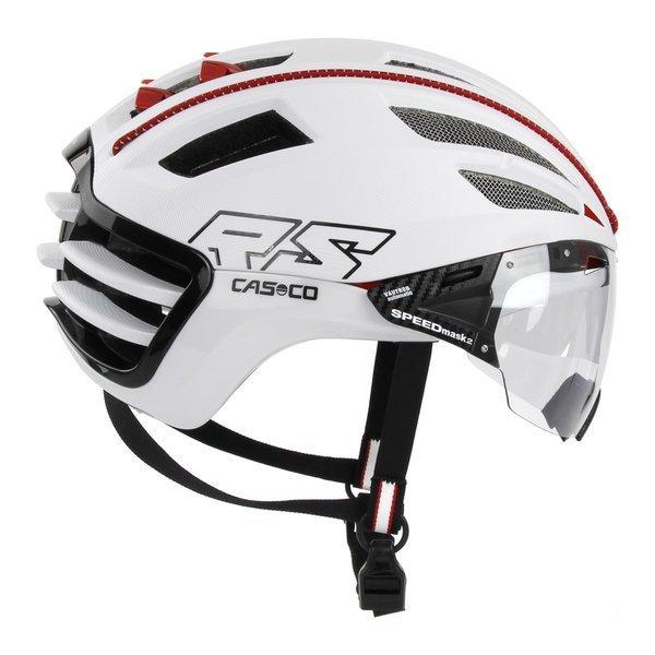 CASCO Kask rowerowy SPEEDAIRO 2 VAUTRON z fotochromem biały