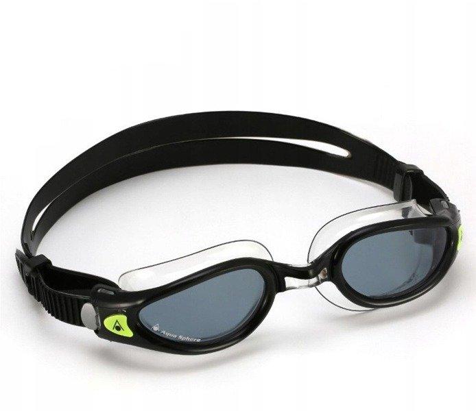 AQUA SPHERE okularki pływackie KAIMAN EXO czarne
