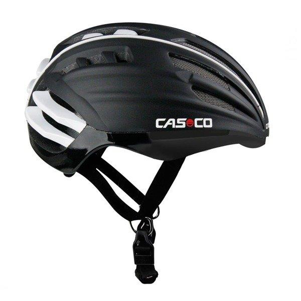 CASCO Kask rowerowy SPEEDairo Czarny z szybką