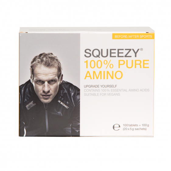 SQUEEZY Tabletki z aminokwasami 100% PURE AMINO