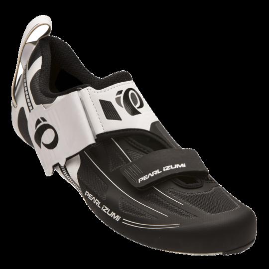 Buty rowerowe triathlonowe Pearl Izumi Tri Fly Elite V6 biało-czarne