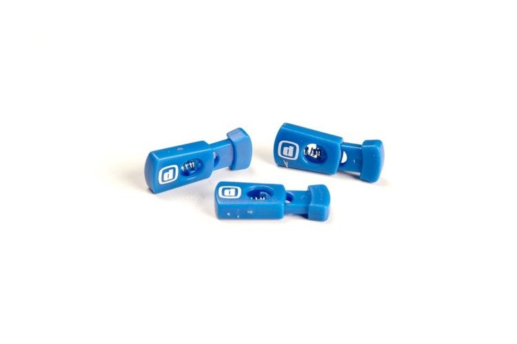 ZEROD Zaciski sportowe Lace Lockers Niebieskie