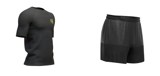 odzież compressport black edition 2019
