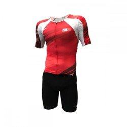 f86700b93b46d5 ZEROD strój triathlonowy TT SUIT czerwony