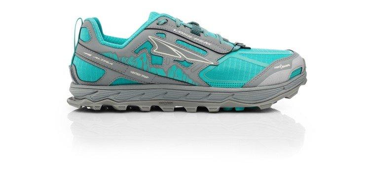 380ff22c ... ALTRA buty do biegania trailowe damskie LONE PEAK 4.0 szaro-turkusowe  ...