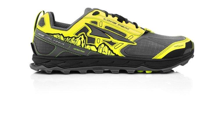 05806d60 ALTRA buty biegowe trailowe męskie LONE PEAK 4.0 szaro-żółte | Sklep ...