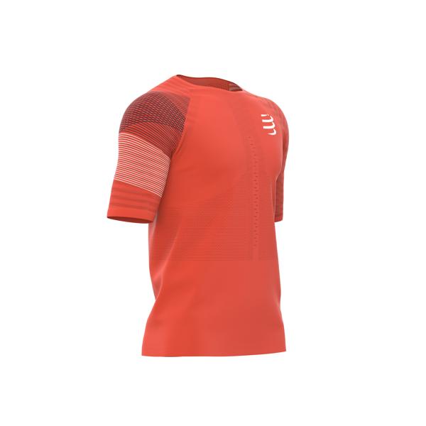 88717877b COMPRESSPORT koszulka biegowa RACING SS TSHIRT pomarańczowa | Sklep ...