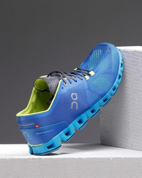 ba9065a0 ON RUNNING buty do biegania męskie CLOUD X niebieskie   Sklep ...