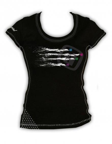 1813977dde46b9 ZEROD Koszulka Damska T-shirt START SWIM | Sklep triathlonowy TRI CENTRE
