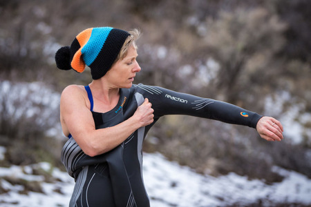 BLUESEVENTY Pianka triathlonowa REACTION THERMAL męska