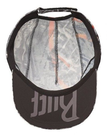 BUFF Czapka biegowa PRO RUN CAP R-CITY Jungle Grey