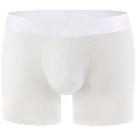 COMFYBALLS Bokserki LONG COTTON białe