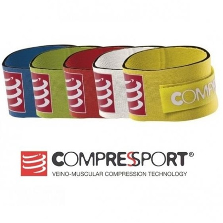COMPRESSPORT Chip Strap Pasek na chip Żółty