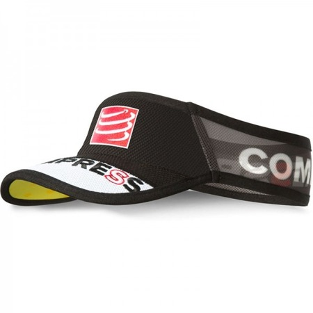 COMPRESSPORT Daszek ULTRALIGHT Visor Czarny