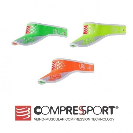 COMPRESSPORT Daszek Visor FLUO Zielony