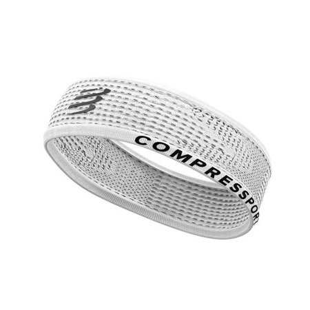 COMPRESSPORT Opaska na głowę THIN HEADBAND ON/OFF v3 biała