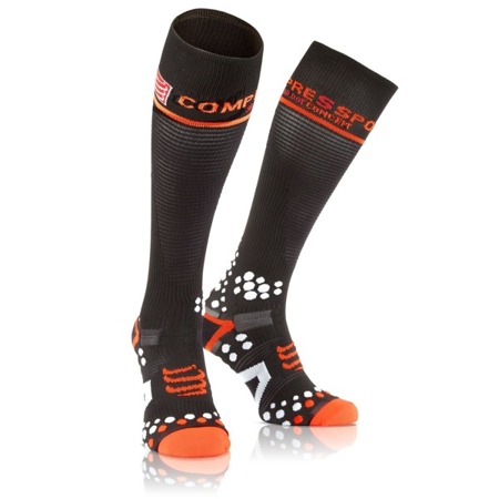 COMPRESSPORT Skarpety kompresyjne Full Socks v2.1 Czarne