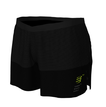 COMPRESSPORT spodenki biegowe PERFORMANCE SHORT BLACK EDITION 2019 czarne