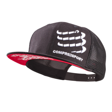 Compressport Czapka Trucker Cap Czarna