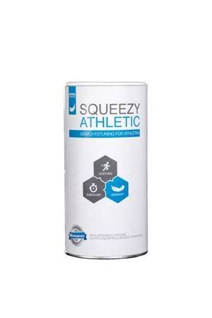 SQUEEZY Athletic 550 g Bananowy