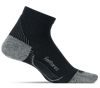 FEETURES Skarpetki do biegania długie PLANTAR FASCIITIS RELIEF SOCKS ULTRALIGHT QUARTER czarne